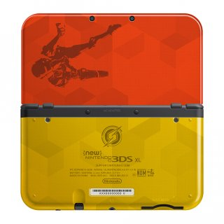 Диск New Nintendo 3DS XL - Samus Edition (Б/У)