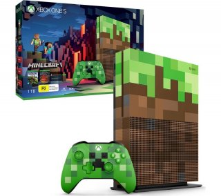 Диск Microsoft Xbox One S 1TB, Minecraft Edition (Б/У)