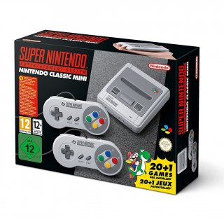 Диск Nintendo Classic Mini: Super Nintendo Entertainment System (Б/У)