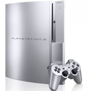 Диск Sony Playstation 3 FAT 80GB (CECHL00), silver (Б/У)