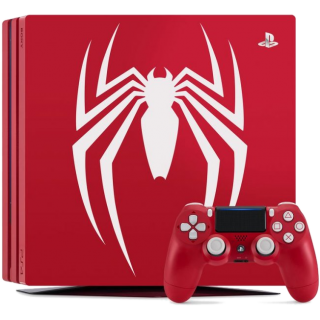 Диск Sony PlayStation 4 Pro 1TB, Limited Edition Spider-Man (Б/У)