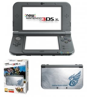 Диск New Nintendo 3DS XL - Monster Hunter 4 Edition