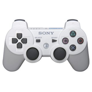 Диск Sony Dualshock 3 Ceramic White, белый (OEM)
