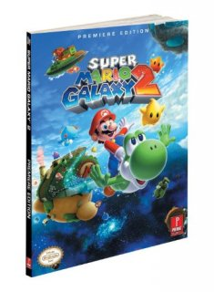 Диск Super Mario Galaxy 2 Official Primer Guide Book [Paperback]