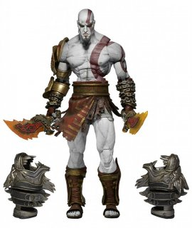 Диск Фигурка Ultimate Kratos (God of War 3) (17 см) (Б/У)