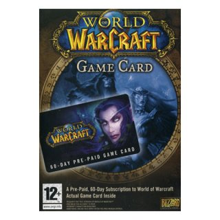 Диск World of Warcraft Pre-Paid Game Card for English vers.(60 Days)