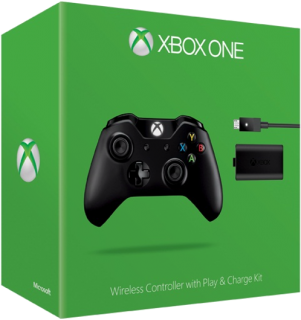 Диск Microsoft Wireless Controller Xbox One + Play and Charge Kit
