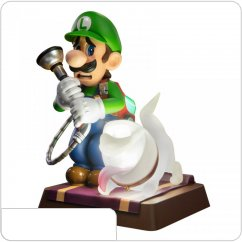 Фигурка First4Figures - Luigis Mansion: Luigi & Polterpup (Collector's Edition)