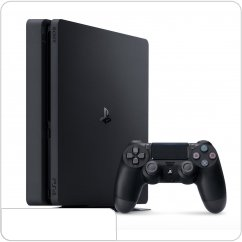 Sony PlayStation 4 Slim 500 ГБ POCTECT, черная (CUH-2108A) main-18305-ps-496242