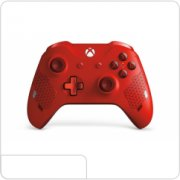 New Microsoft Wireless Controller Xbox One (Sport Red)