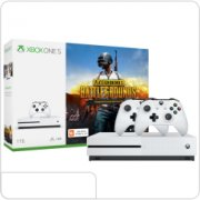 Microsoft Xbox One S 1TB, белый (Ростест) + PlayerUnknown's Battlegrounds код + Xbox Live Gold 1м. + Game Pass 1м. + 2 геймпада (джойстика) main-22883-xbox-one144266
