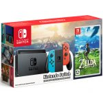 Nintendo Switch (неоновый красный/неоновый синий) + игра Legend of Zelda: Breath of the Wild main-21337-nintendo-switch457851