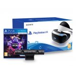 Sony PlayStation VR (CUH‐ZVR2) + Playstation Camera 2.0 + Playstation VR Worlds