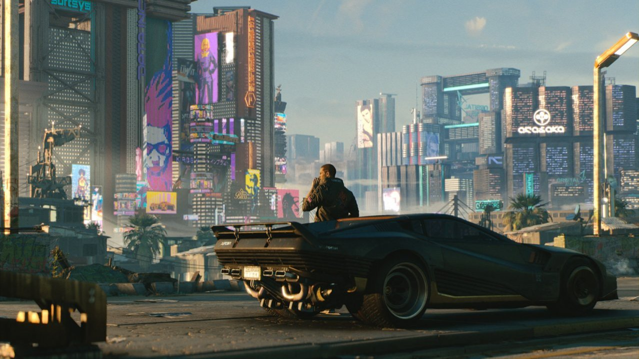 Скриншот игры Cyberpunk 2077 Collector's Edition для PS4