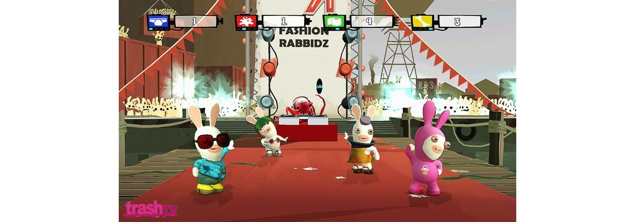 Скриншот игры Rayman Raving Rabbids: TV Party (Б/У) для Wii