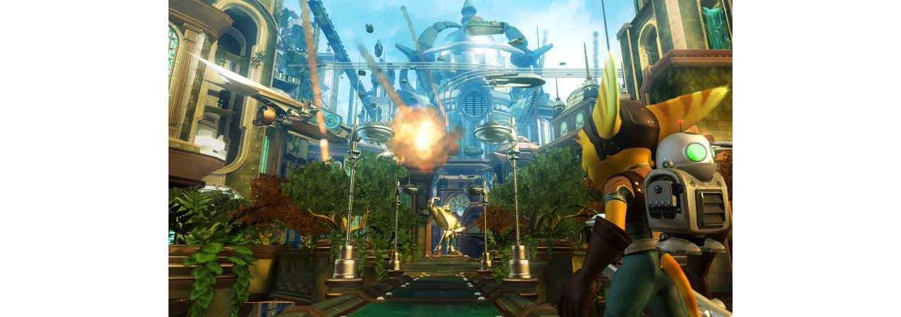 Скриншот игры Ratchet & Clank Future: Tools of Destruction (Б/У) для PS3