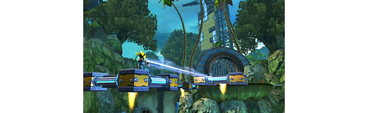 Скриншот игры Ratchet & Clank Future: Quest for Booty для PS3