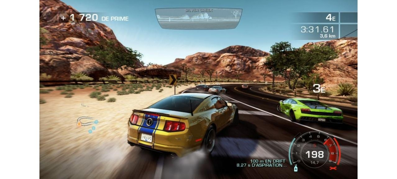 Скриншот игры Need for Speed Hot Pursuit (Б/У) для PS3