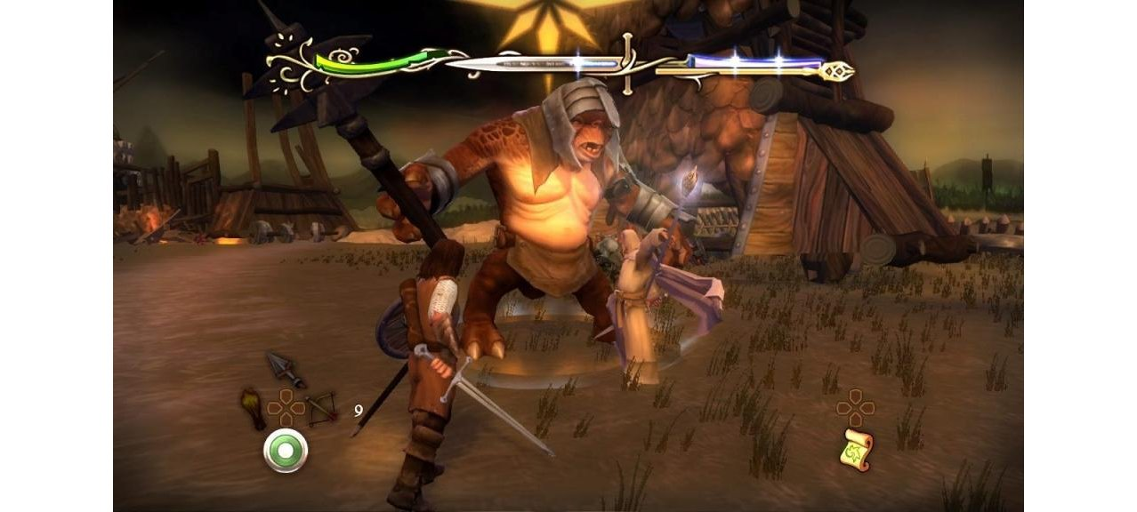 Скриншот игры The Lord of the Rings: Aragorns Quest для PS3