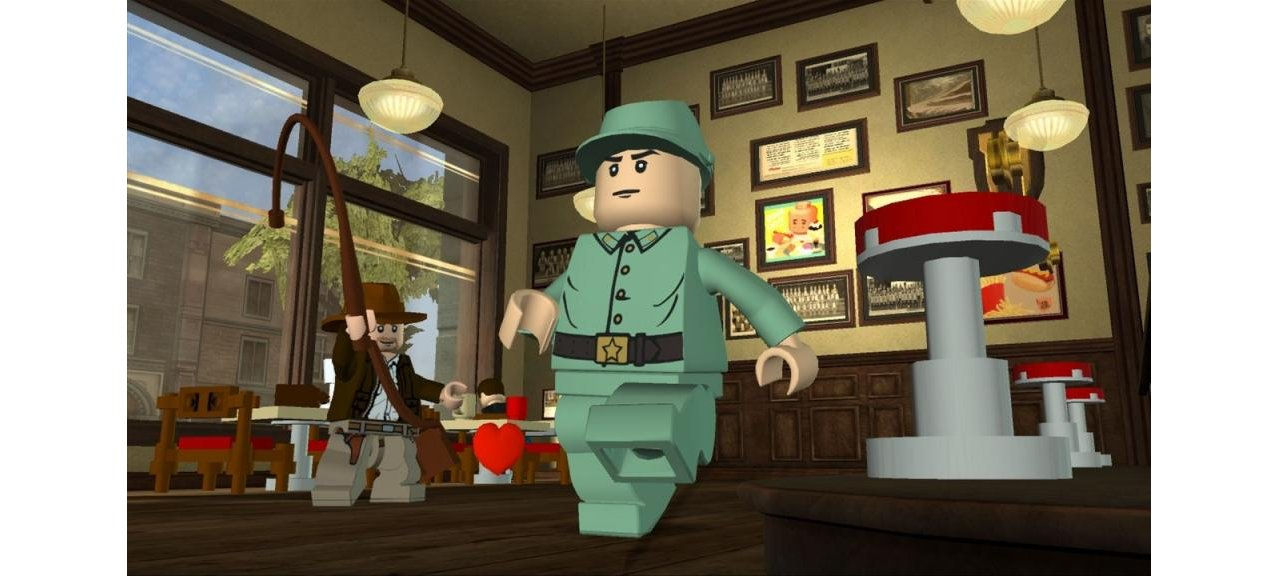 Скриншот игры LEGO Indiana Jones 2: The Adventure Continues для Wii