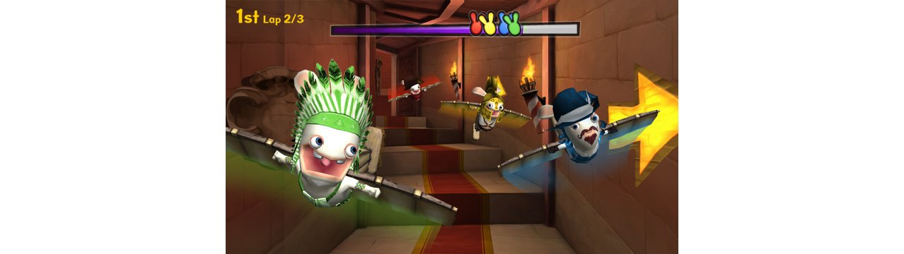 Скриншот игры Raving Rabbids: Travel In Time (Б/У) для Wii