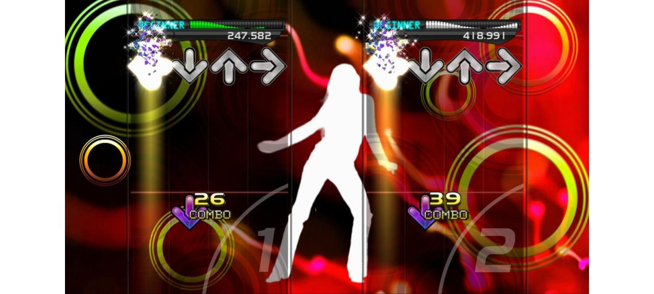 Скриншот игры Dance Dance Revolution New Moves + Dance Mat для PS3