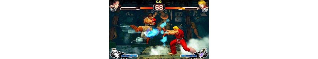 Скриншот игры Super Street Fighter IV 3D Edition для 3DS