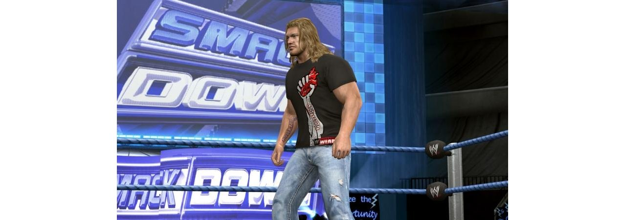 Скриншот игры WWE SmackDown vs. Raw 2010 (Б/У) (не оригинальная полиграфия) для PS3