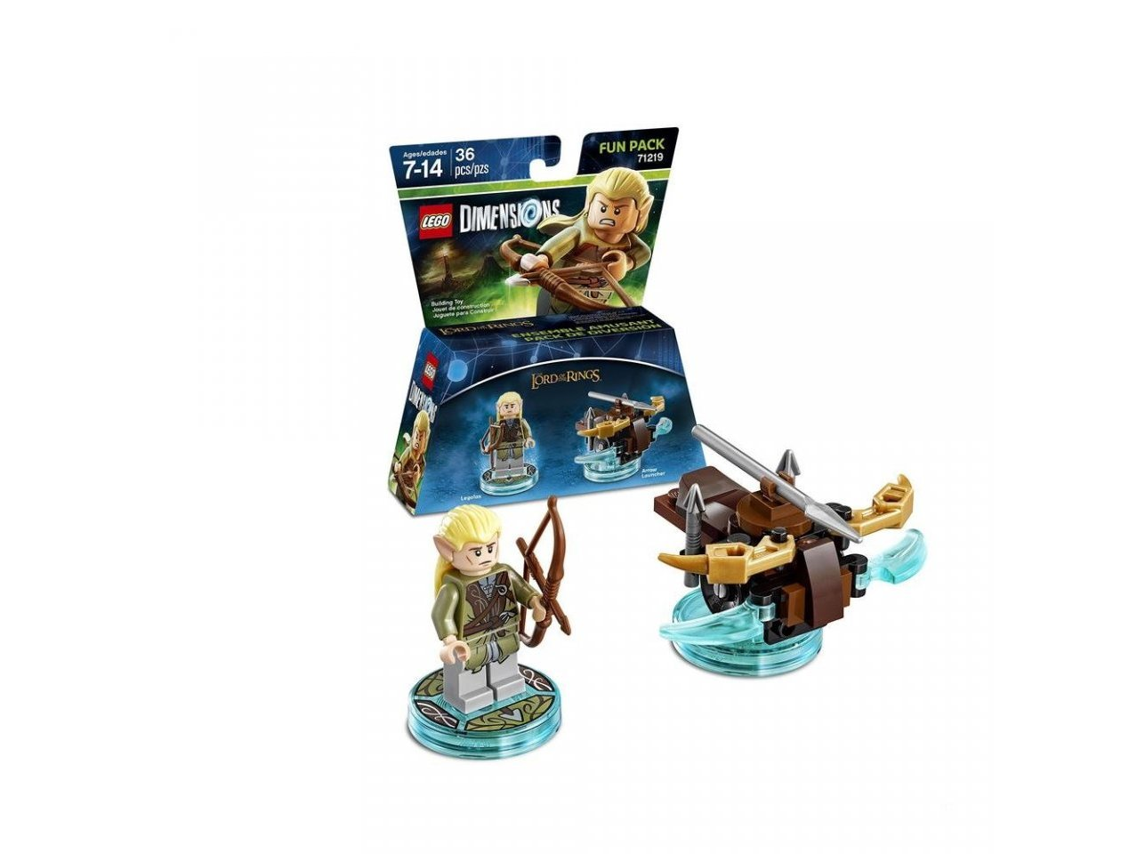 Главное изображение Lego Dimensions - Lord of the Rings - Logolas Fun Pack для PS3