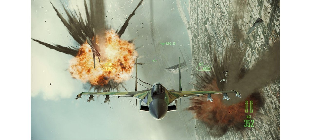 Скриншот игры Ace Combat Assault Horizon Limited Edition для PS3