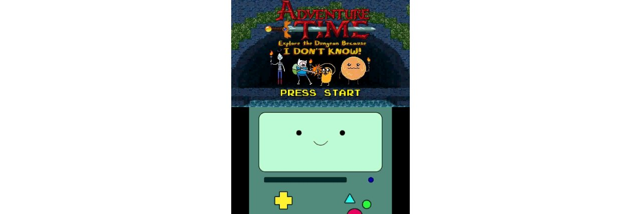 Скриншот игры Adventure Time: Explore the Dungeon Because I DON'T KNOW! для 3DS