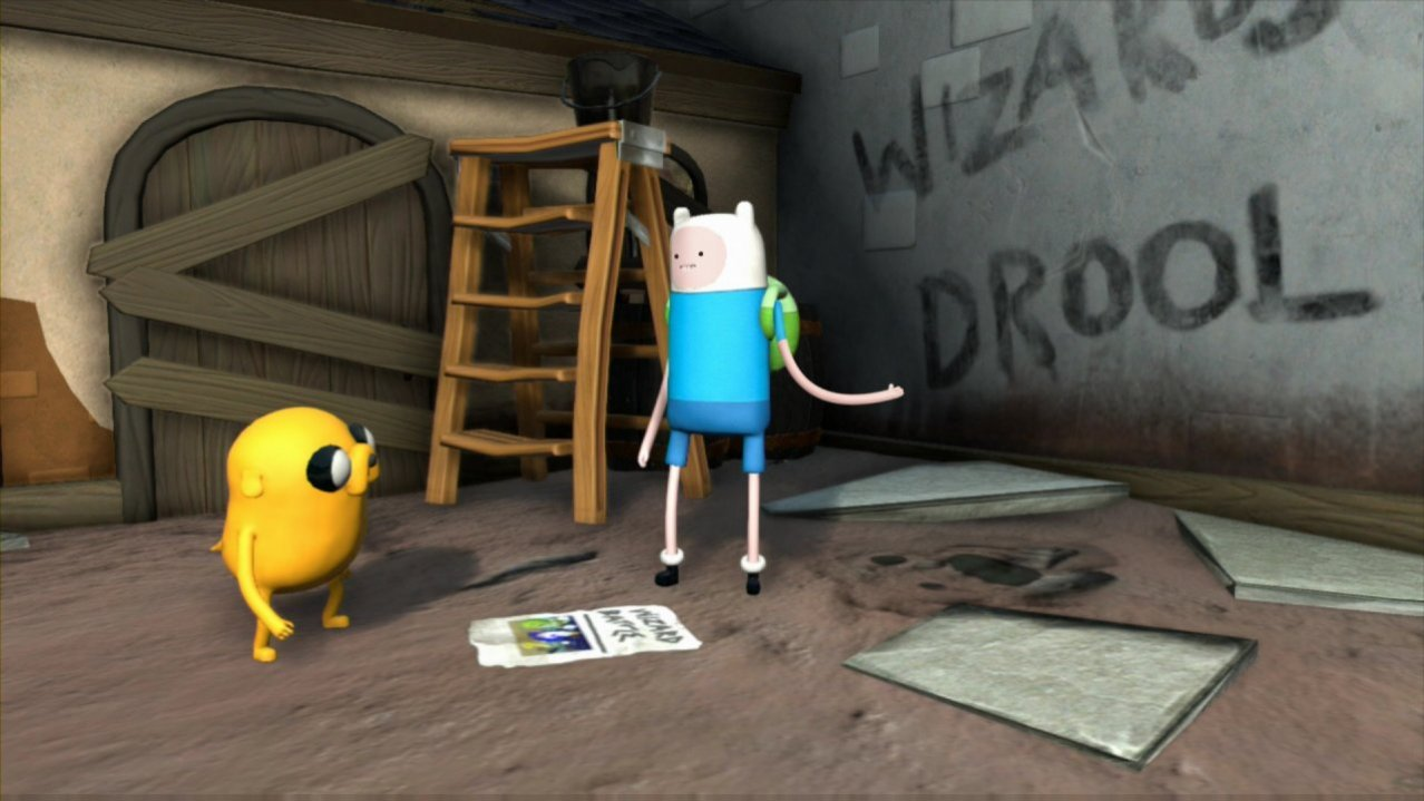 Скриншот игры Adventure Time: Finn and Jake Investigations для PS3