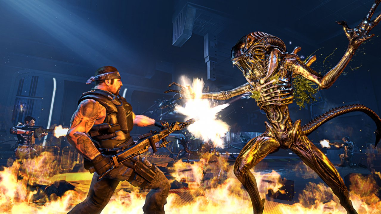 Скриншот игры Aliens: Colonial Marines (Б/У) для PS3