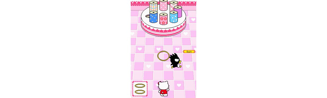 Скриншот игры Around The World with Hello Kitty and Friends для 3DS