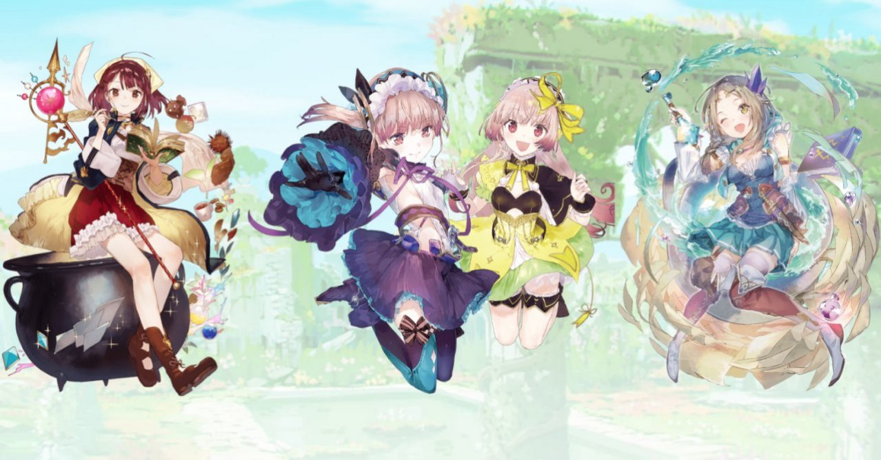 Скриншот игры Atelier Mysterious Trilogy Deluxe Pack для Switch