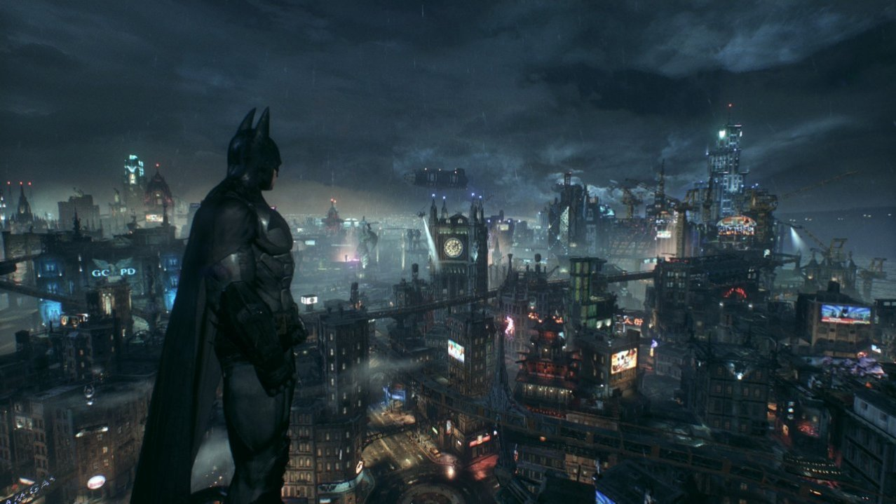Скриншот игры Batman: Рыцарь Аркхема (Arkham Knight) (Steebook) (Б/У) для PS4