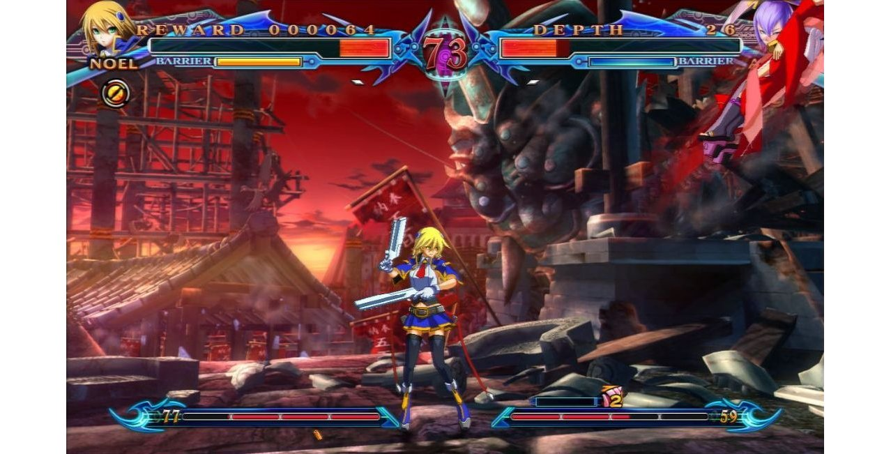 Скриншот игры BlazBlue: Chrono Phantasma (Б/У) для PS4