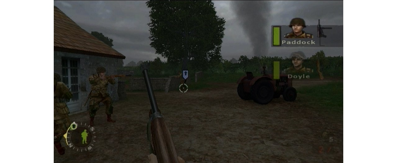 Скриншот игры Brothers in Arms: Double Time (Б/У) для Wii