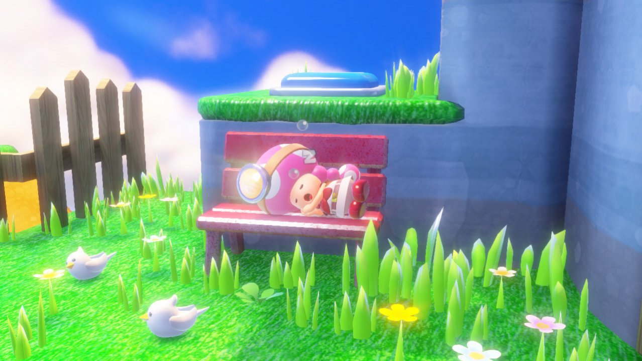 Скриншот игры Captain Toad Treasure Tracker для Wii
