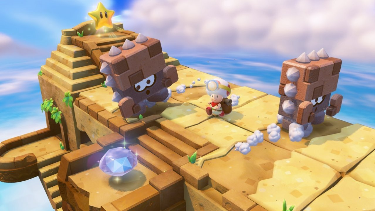 Скриншот игры Captain Toad: Treasure Tracker для 3DS