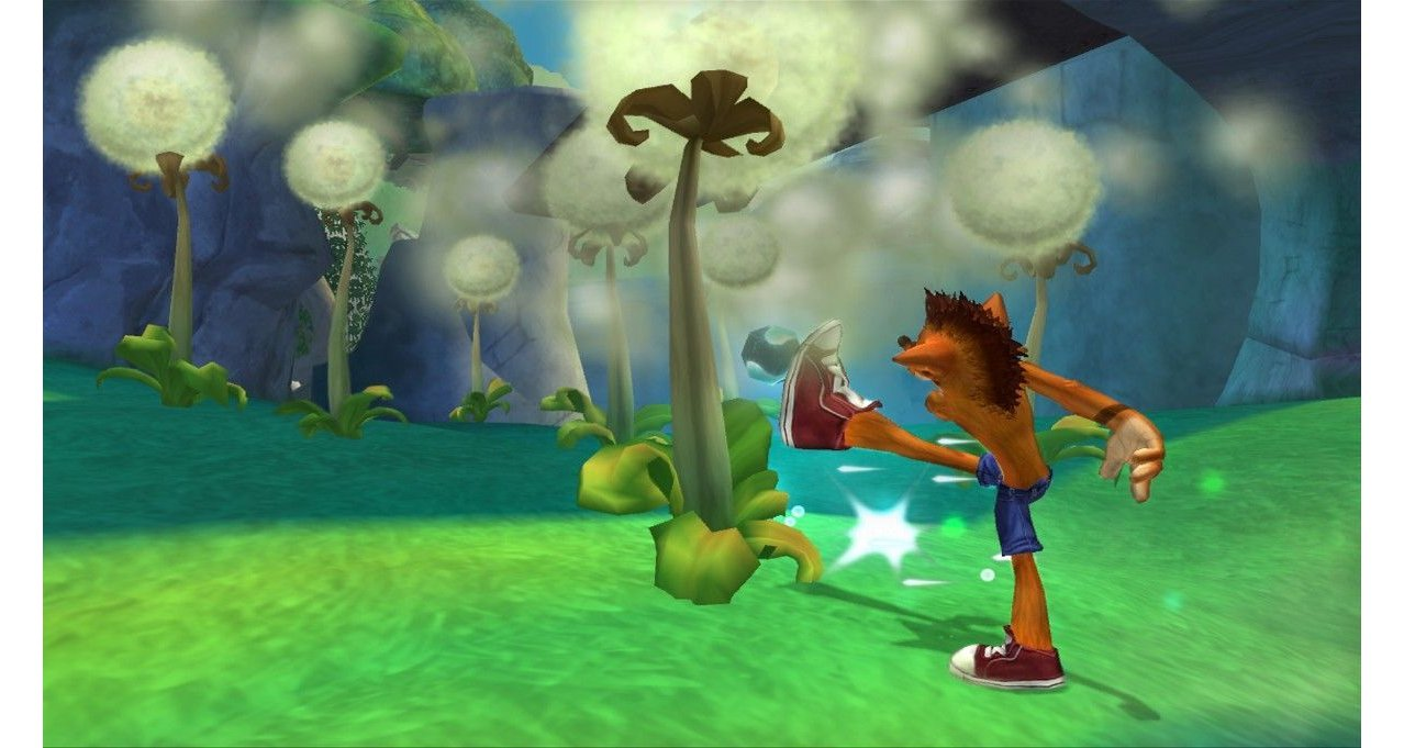Скриншот игры Crash Bandicoot: Mind over Mutant для Xbox360