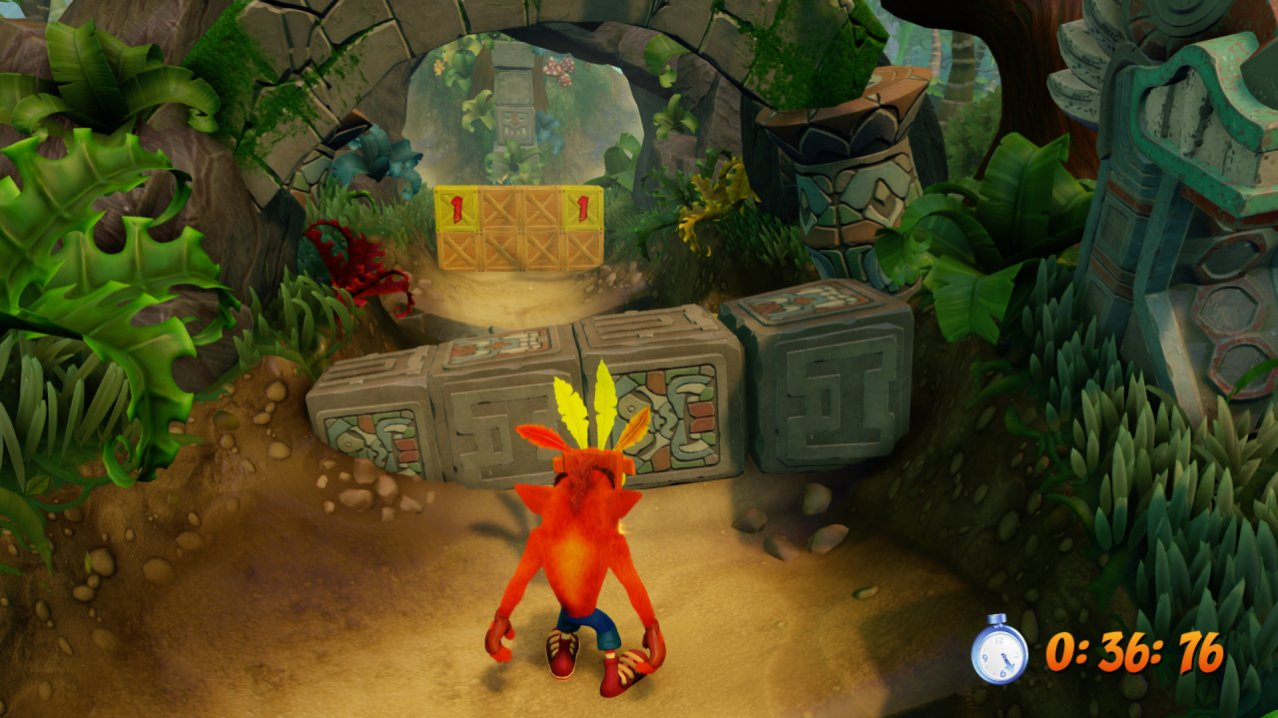 Скриншот игры Crash Bandicoot N. Sane Trilogy для PS4