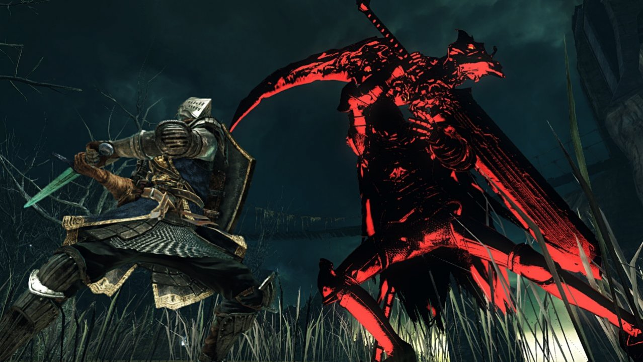Скриншот игры Dark Souls II: Scholar of the First Sin для PS4