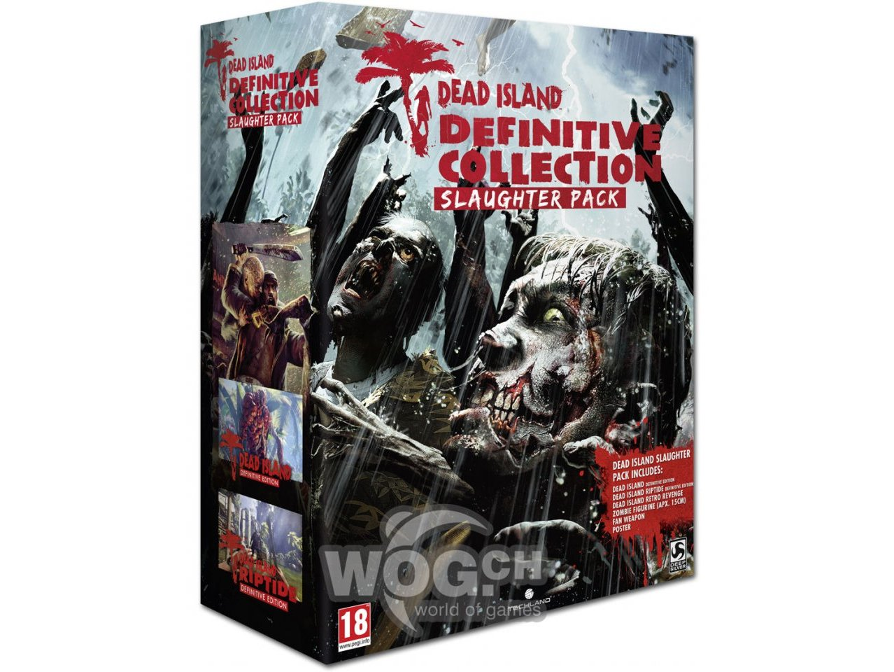 Скриншот игры Dead Island: Definitive Collection : Slaughter Pack [PS4] для PS4