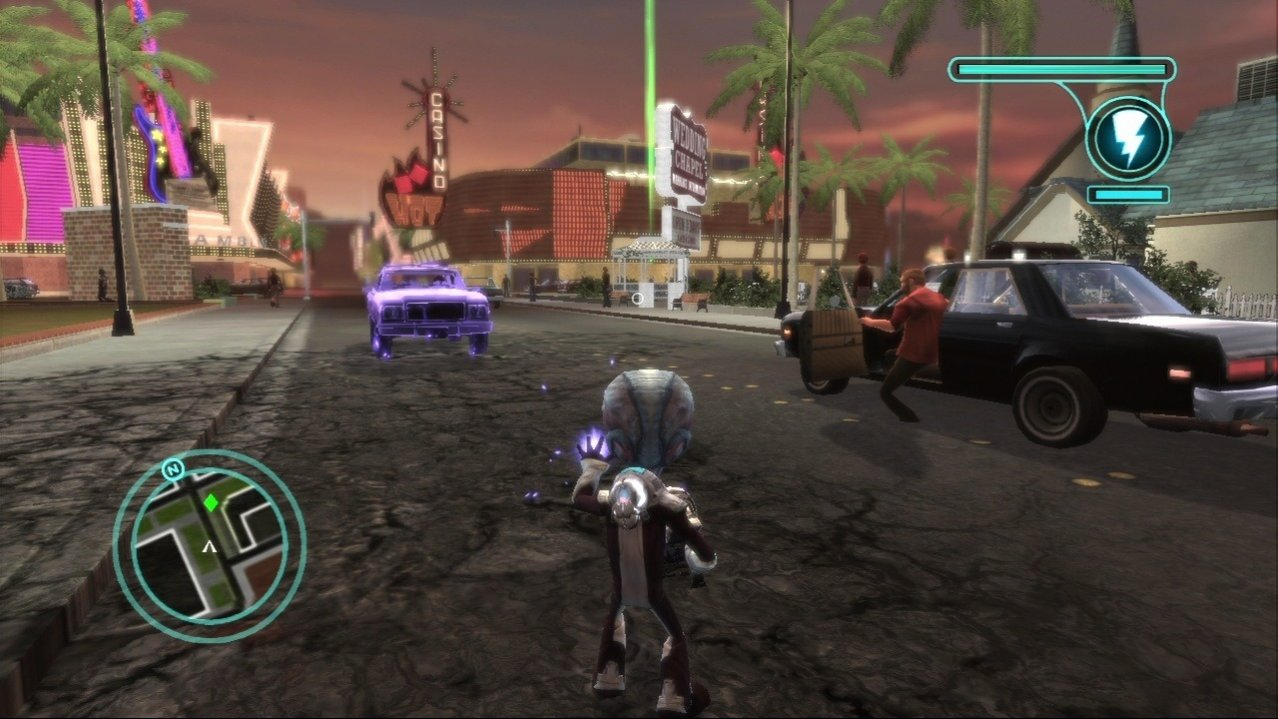 Скриншот игры Destroy All Humans! Path of the Furon (Б/У) для PS3