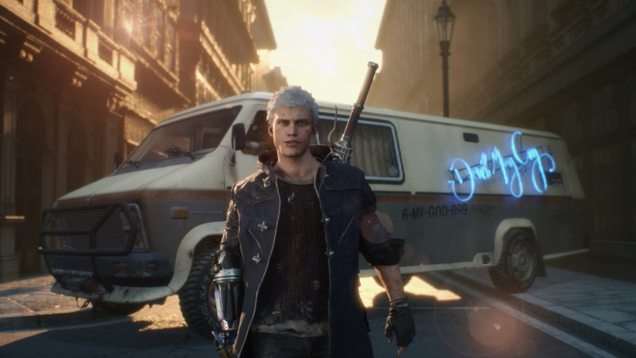 Скриншот игры Devil May Cry 5 Special Edition для PS5