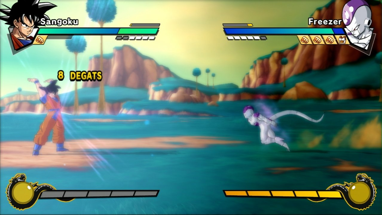 Скриншот игры Dragon Ball Z: Burst Limit (Б/У) для Xbox360