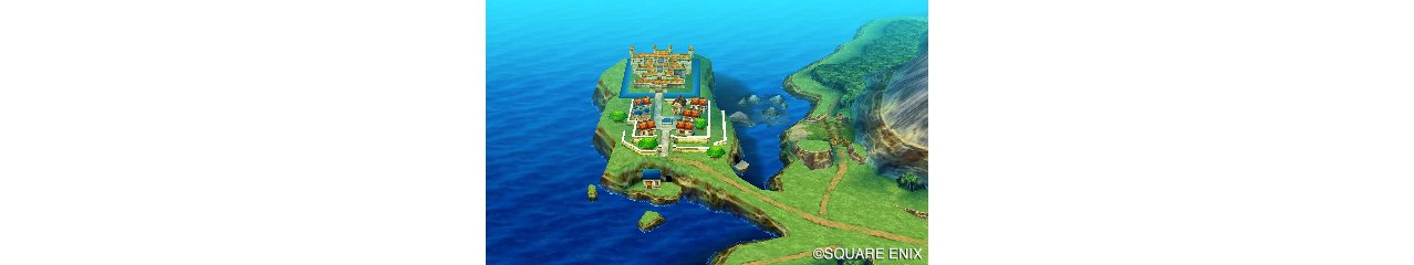 Скриншот игры Dragon Quest VII: Fragments of the Forgotten Past для 3DS
