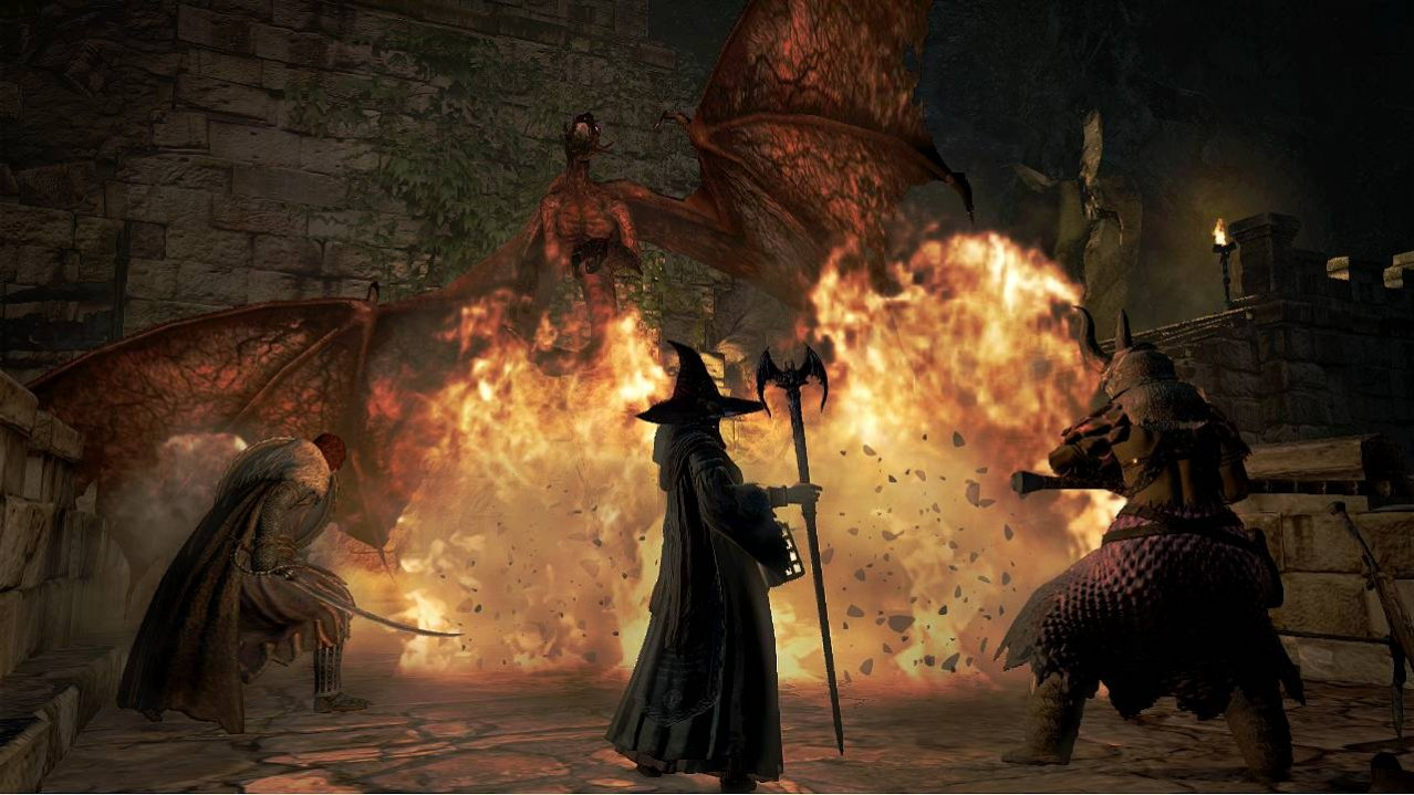 Скриншот игры Dragon's Dogma: Dark Arisen (Б/У) для PS4
