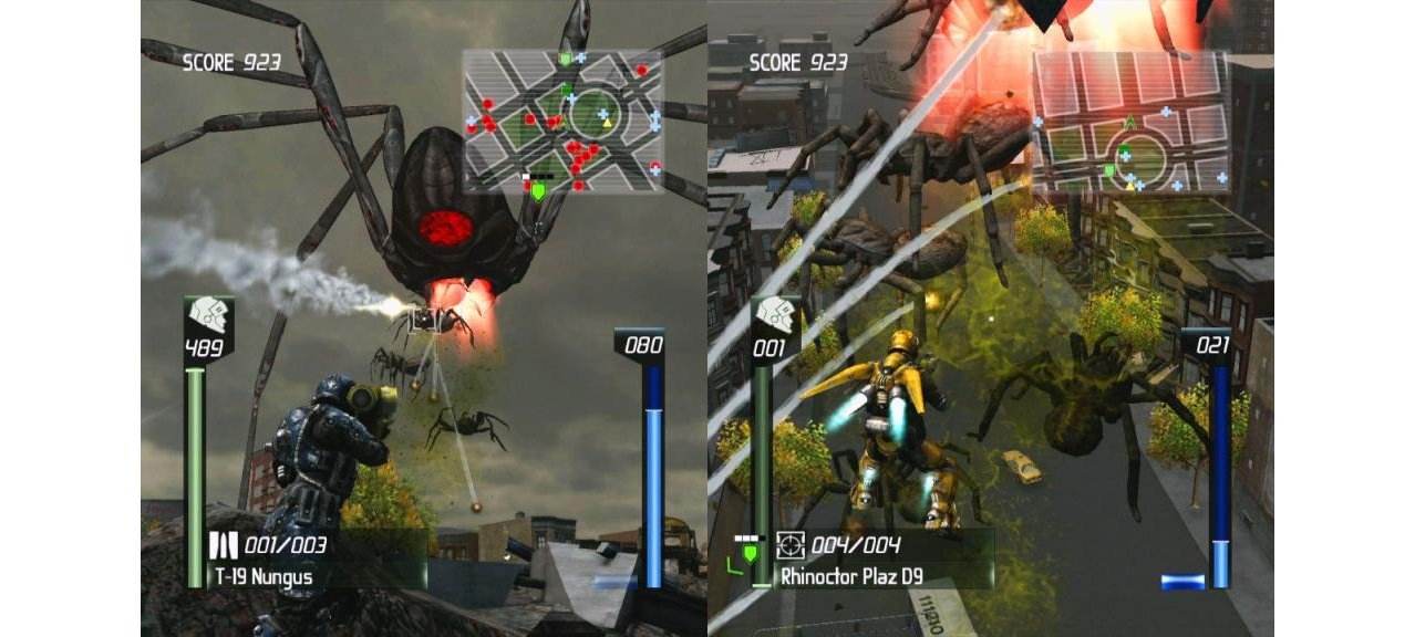 Скриншот игры Earth Defense Force: Insect Armageddon для Xbox360